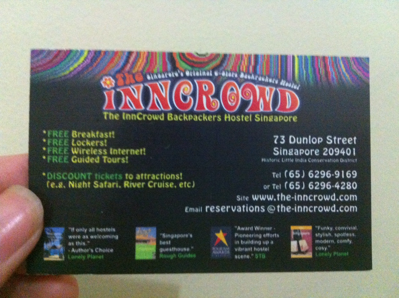 InnCrowd Hostel For Backpacker