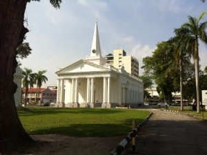 St. George Church. Gereja untuk mengenang Raja George III
