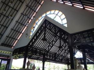 Atap Lobby Santika Cirebon