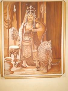 Lukisan Sultan 3 dimensi