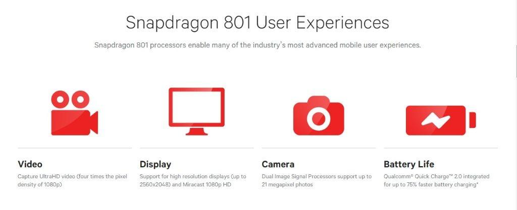 kelebihan Snapdragon 801