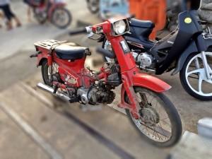 Motor Tua yang banyak dijumai di Phnom Penh