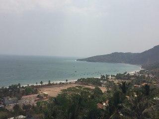 Pemandangan Pantai Cimaja