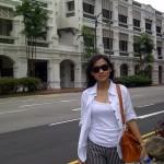 daerah sekitar Raffless Hotel