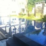 sisi lain kolam renang