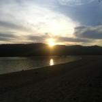 Senja di Tanjung Aan