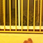 jendela dan kaki si pejalan sore :D