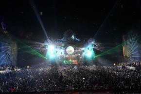Suasana panggung utama Dreamfield fest. gambar diambil oleh photographer resmi DF