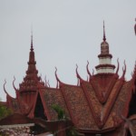 atap bangunan tradisional Kamboja