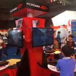 di booth ada tempat buat main games seru