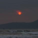 sunset di Pantai Cimaja